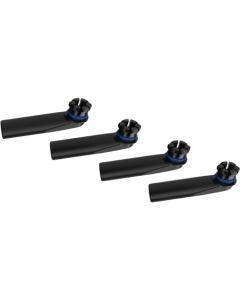 Ovaj Set usnika kompatibilan je s vaporizerima Crafty i Mighty i sadrži 4 usnika