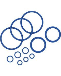 Set brtvenih prstena sadrži 11 brtvenih prstena različitih veličina za vaporizer Crafty