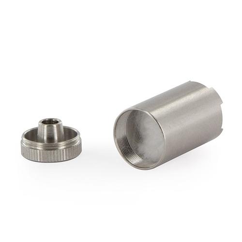 Kapsula za koncentrate koristi se za vaporiziranje koncentrata poput voskova i ulja u vaporizerima tvrtke Flowermate